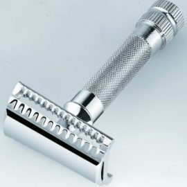 Merkur 198 Heavy Duty Safety Razor Slant Bar