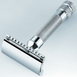 Merkur 178 Heavy Duty Safety Razor with Bar