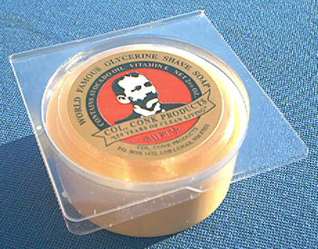 Colonel Conk 143 Soap, Bay Rum Glycerin 2-1/4 oz