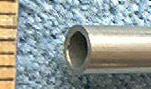 "Knife Making NS5012 Nickel Silver Tube 1/4"" x 12"""
