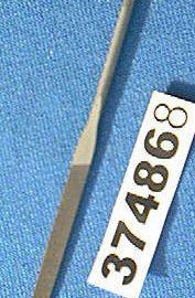 Nicholson 37486 Flat Needle File 4