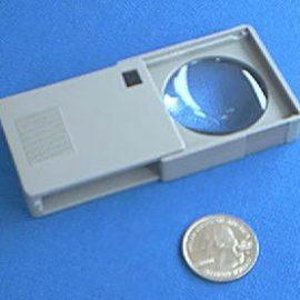Donegan P704 Slide Out Pocket Magnifier 4X