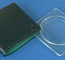 Donegan V906 Single Folding Pocket Magnifier 3-1/4X