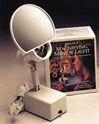 "Floxite FL-77 Magni 5 Magnifying Mirror Light 7"" 7X"