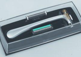 Dovo 600-002 Merkur double track razor fixed and swivel head