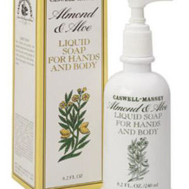 Caswell-Massey 07-00507 Almond & Aloe Liquid Soap
