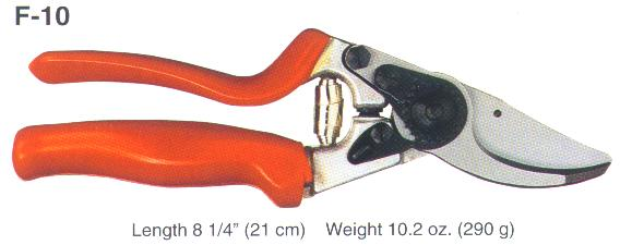 Felco F-10 Left Hand Top-of-the-Line Rotating Pruning Shear