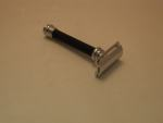 Dov38-011 Merkur Heavy Duty Long Handled Black Safety Razor