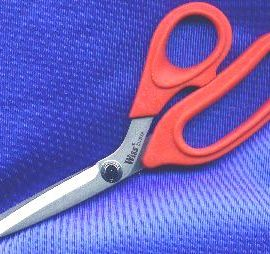"Wiss-22PN Heavy Bent Shears 12-1/4"" Red Handles"