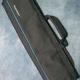 Messermeister 2066-5B Knife Roll Black, 8 pockets