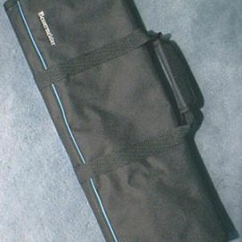 Messermeister 2066-12B Knife Roll Black, 12 pockets