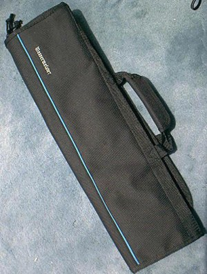 Messermeister 1066-8B Knife Roll Black, 8 pockets