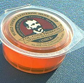Colonel Conk 123 Soap, Amber Glycerin 3-3/4 oz