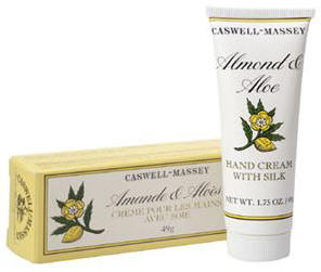 Caswell-Massey 07-00500 Almond & Aloe Hand Cream with Silk