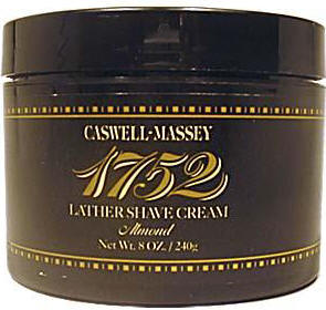 Caswell-Massey 17-22483 Almond Shave Cream in a Jar 8 oz.