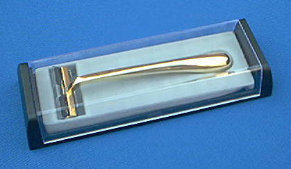 Colonel Conk 225 Double Track Razor Gold