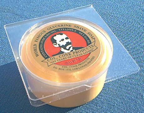 Colonel Conk 143 Soap Bay Rum Glycerin 2 1 4 Oz