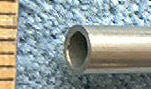 "Knife Making NS5012 Nickel Silver Tube 1/4"" x 12"""