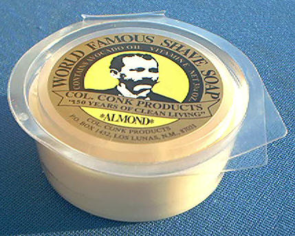 Colonel Conk 158 Soap, Almond 3-3/4 oz