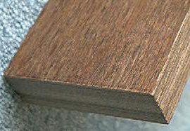 """Black Ink Walnut JZ-PK151 Dymondwood scale 1-1/2"""" x 10"""""""