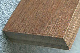 "Black Ink Walnut JZ-PK151 Dymondwood scale 1-1/2"" x 10"""