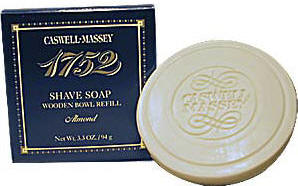 Caswell-Massey 17-22481 Almond Shave Soap Refill