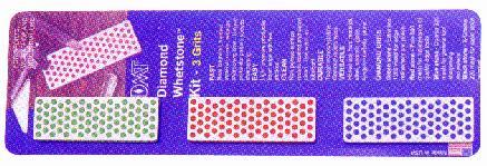 DMT 7EFC Pocket Diamond Whetstone Kit