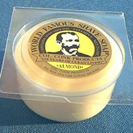 Colonel Conk 112 Soap, Almond 2-1/4 oz
