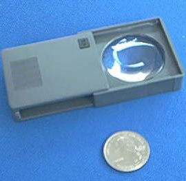 Donegan P705 Slide Out Pocket Magnifier 5X
