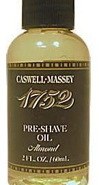 Caswell-Massey 17-22478 Almond Pre-Shave Oil 2 oz.