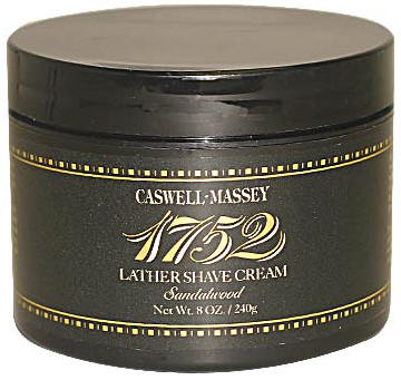 Caswell-Massey 17-22491 Sandalwood Shave Cream in a Jar 8 oz.