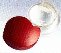 Eschenbach 1710-14 Red Folding Pocket Magnifier 4X