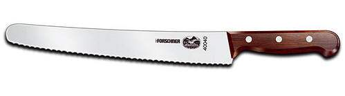 "Victorinox Forschner 40040 Cake knife and Bread knife 10"" Rosewood"
