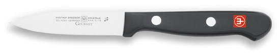 Wusthof 4042 Gourmet Paring Knife Clip Point 3""