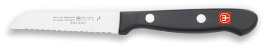 Wusthof 4011 Gourmet Serrated Paring Knife 3""