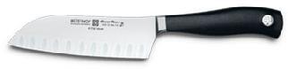 Wusthof 4173 Grand Prix II Santoku Knife Granton Edge 5 1/2 inch