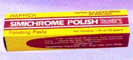 Simichrome Polishing Paste in tube