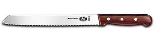 """Victorinox Forschner 40049 Bread Knife, 8"""", Slant Tip, Rosewood"""