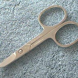 Dovo 5610-359 Combination Nail - Cuticle Scissor 3-1/2""