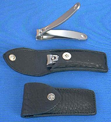 Dovo 216-016 SS Small Clipper w Deluxe Sheath