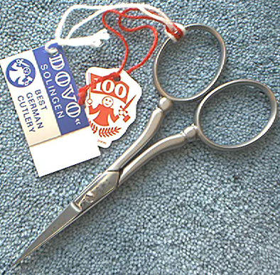 Dovo 44-400026 Embroidery Scissors SS Satin 4""