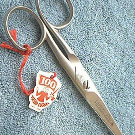 Dovo 285-508 Scissors Double Points SS Satin 5""