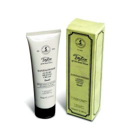 TB-01025 Taylor of Old Bond Street Sandalwood Shaving Cream 75ml